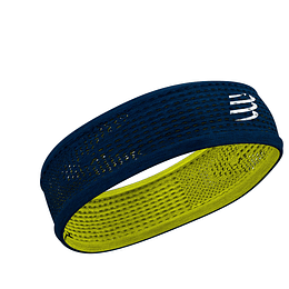 Headband On/Off Compressport Azul/Lima - NEW