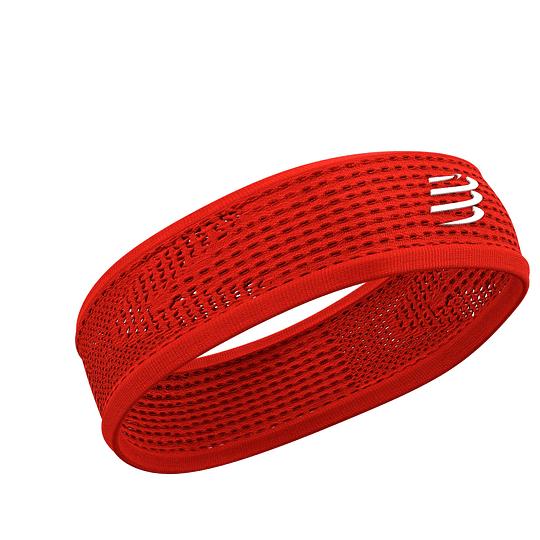 Headband On/Off Compressport Rojo - NEW