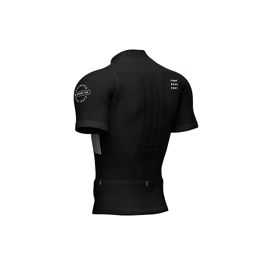 Trail Postural SS Top Negro -NEW