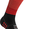 Socks MID Negro/Rojo -NEW