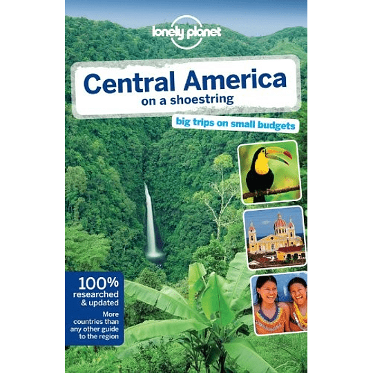 Central América on a Shoestring 8th. Edition LP Inglés