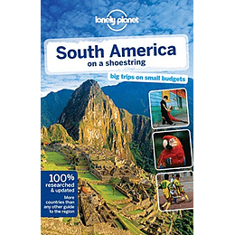 South America on a shoestring 12th. Edition LP Inglés