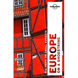 Europe on a Shoestring 9th. Edition LP Inglés