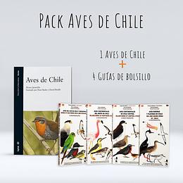 Pack Aves de Chile - Jaramillo