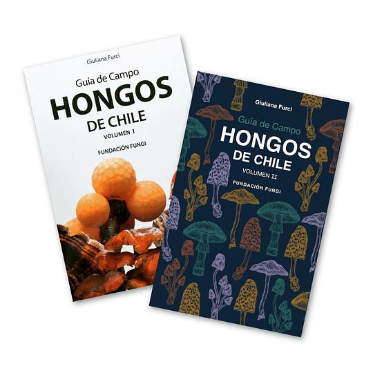 Preventa - Pack Guías Hongos de Chile - Vol. 1 y 2