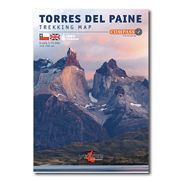 Mapa Trekking Torres Del Paine