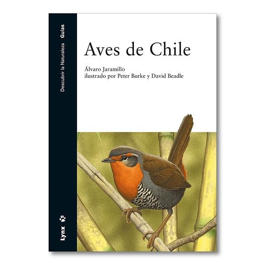 Preventa - Libro Aves de Chile - Álvaro Jaramillo