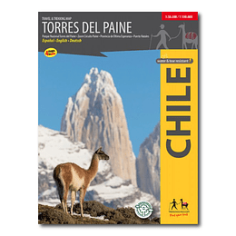 Torres del Paine - Trekking Map