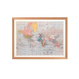 Mapa mundi 1910 pineable