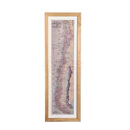Mapa general de Chile pineable año 1944