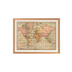 Mapa Mundi político 1940