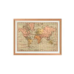 Mapa Mundi político 1940 pineable