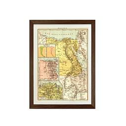 Mapa político Egipto pineable
