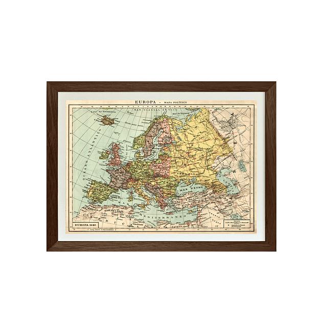 Mapa político Europa pineable