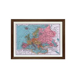 Mapa pineable Europa fines siglo XIX