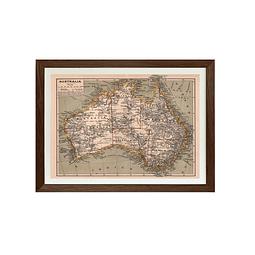 Mapa Politico Australia pineable