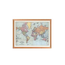 Mapa mundi contemporaneo pineable marco Mañio