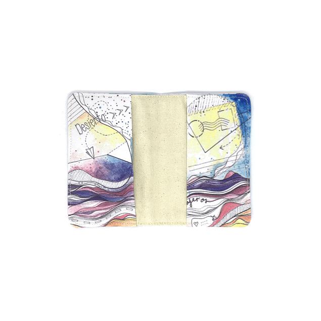 Porta pasaporte telas ilustradas Chilenas con SBradanovic: Antofagasta