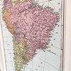 Mapa político América del Sur pineable
