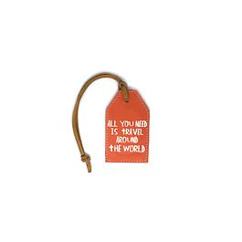 Tag de equipaje frase