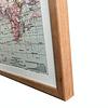 Mapa mundi rutas marítimas de viajes XL pineable