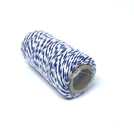 Hilo Baker Twine azul/blanco para decorar mapas pineales