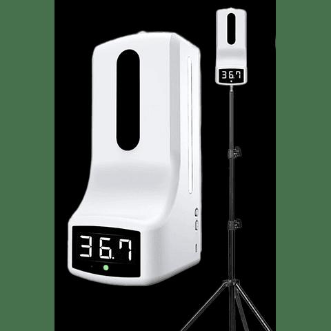 Dispensador Automático c/termómetro Tripé