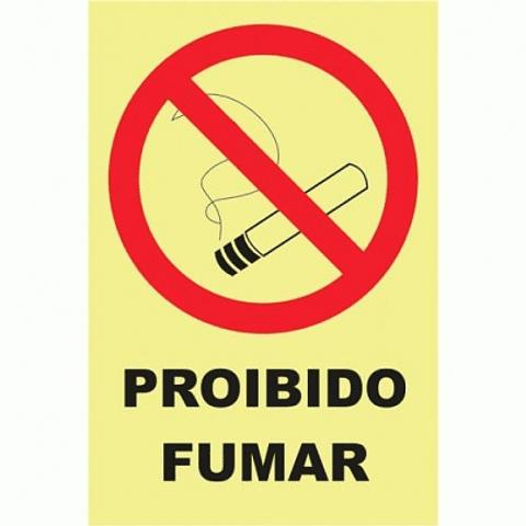 (Blister 1un)-Sin PVC Opac 100x200 (Proibido Fumar)-PT
