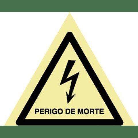 Sinal PVC Fotol 150x200 (Perigo de Morte)