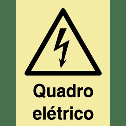 Sinal PVC Fotol 150x200 (Quadro Electrico)