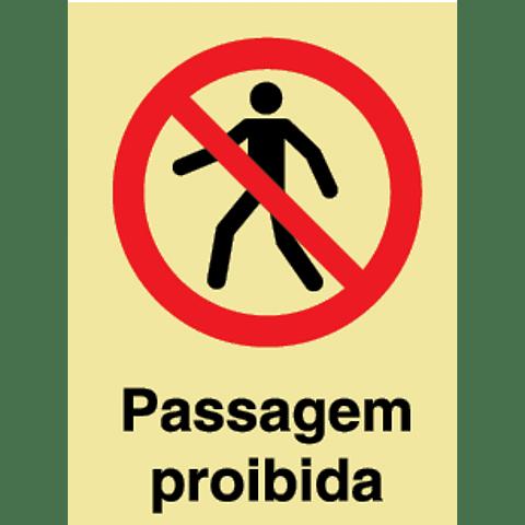 (Blister 1un)-Sin PVC Opac 150x200 (Passag Proibida)-PT