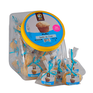 24 Bolsita Regalo por 1 Und Snack Apetit Muffin Multicereal