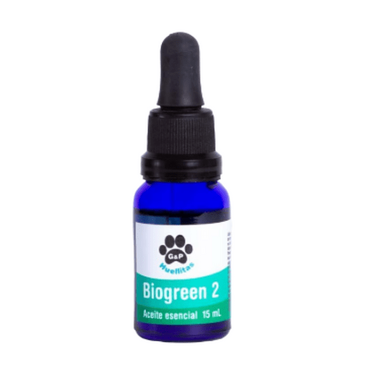 Aceite Aromaterapia Mascotas Biogreen 2 Equilibrium 15 ml - Image 2