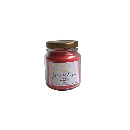 Vela Artesanal Frutos del Bosque 130 ml