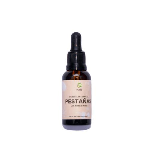 Aceite Artesanal para Pestañas y Cejas 30 ml