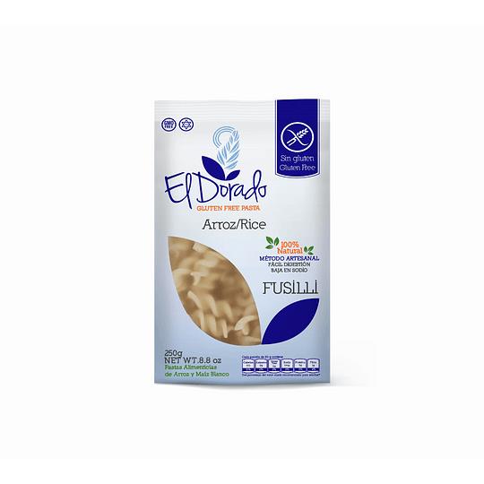 Pasta Fusilli de Arroz 250 g