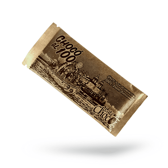 Chocolatina Chocó 100% Cacao 25 g