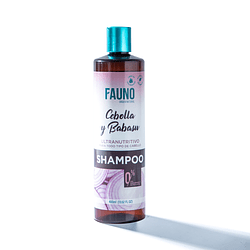 Shampoo Fauno Ultranutritivo Para Todo Tipo de Cabello Sin Sal Cebolla y Babasu 400 ml