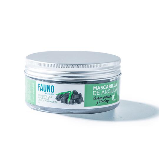 Mascarilla de Arcilla Carbón Activado y Moringa 150 g - Image 1