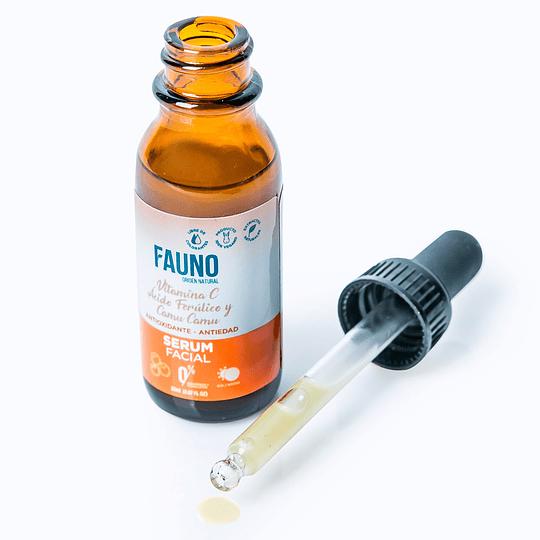Serum Facial Vitamina C, Ácido Ferúlico y Camu Camu 20 ml - Image 2