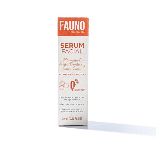 Serum Facial Vitamina C, Ácido Ferúlico y Camu Camu 20 ml - Image 3