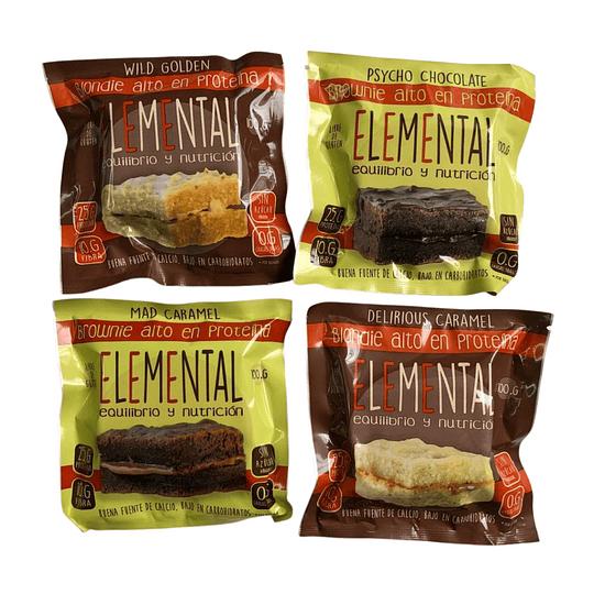 Brownie Caramelo con Proteína 100 g - Image 2