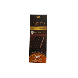 Barra de Chocolate 80% 50g