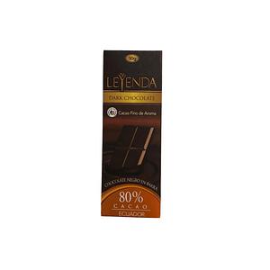 Barra de Chocolate (chocolatina) 80% 50g