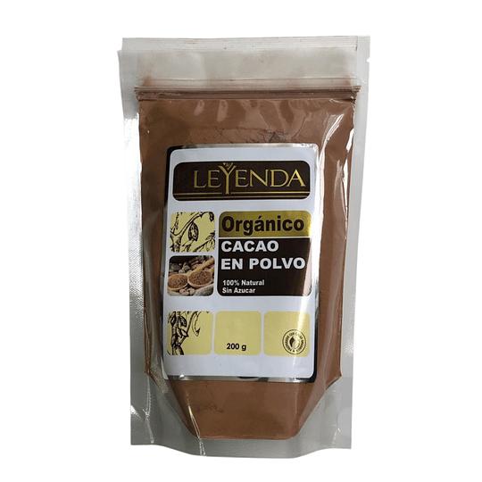 Cacao en Polvo Orgánico 200 g