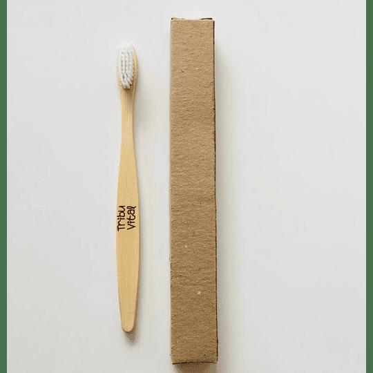 Cepillo de Dientes de Bambú BLANCO - Image 2