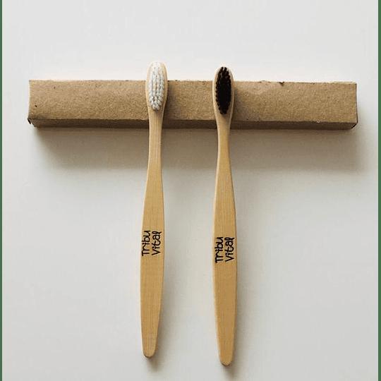 Cepillo de Dientes de Bambú BLANCO - Image 3