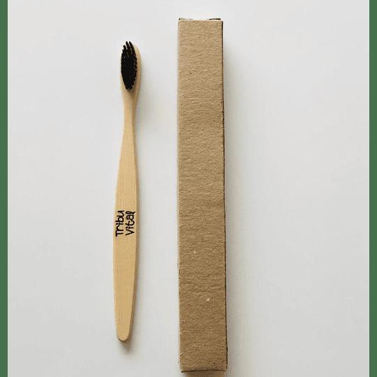 Cepillo de Dientes de Bambú NEGRO - Image 1