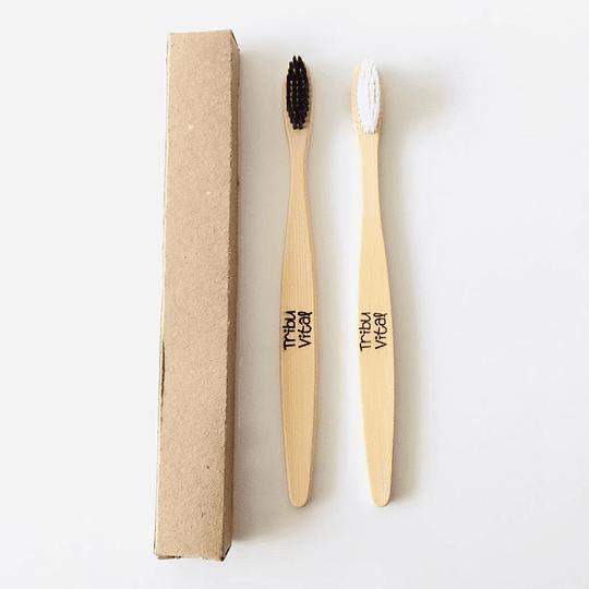 Cepillo de Dientes de Bambú NEGRO - Image 2