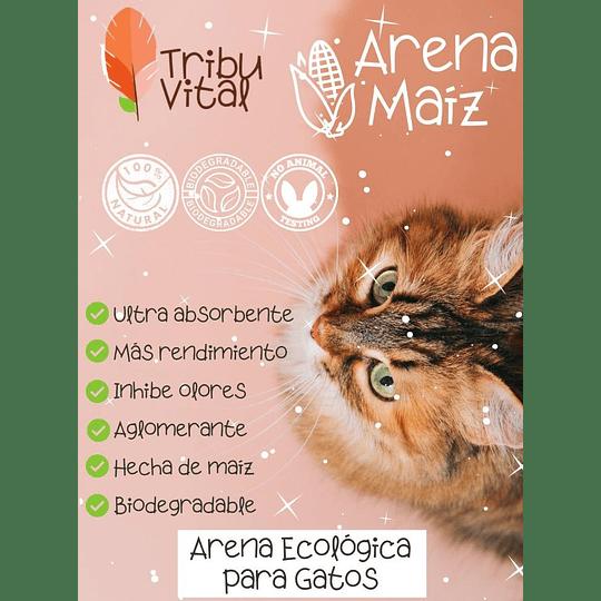 Arena para gatos ecológica x 4 kg - Image 2